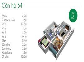 Thanh toán chỉ 379tr/căn, nhận nhà ở ngay, căn hộ liền kề Quận 7, mặt tiền Nguyễn Văn Linh - Tầng: 9