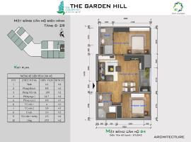 Bán căn hộ B4 The Garden Hill tầng 10-Chung cư 99 Trần Bình - Tầng: 10