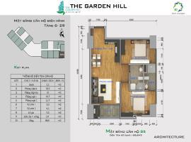 Bán căn hộ B5 The Garden Hill tầng 10-Chung cư 99 Trần Bình - Tầng: 10