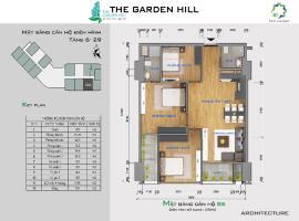 Bán căn hộ B6 The Garden Hill tầng 10-Chung cư 99 Trần Bình - Tầng: 10