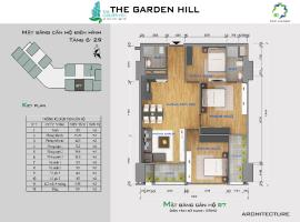 Bán căn hộ B7 The Garden Hill tầng 10-Chung cư 99 Trần Bình - Tầng: 10