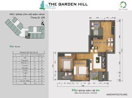 Bán căn hộ B9 The Garden Hill tầng 10-Chung cư 99 Trần Bình - Tầng: 10