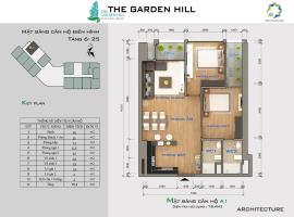 Bán căn hộ B10 The Garden Hill tầng 10-Chung cư 99 Trần Bình - Tầng: 10