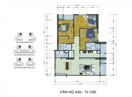 Căn hộ A2b chung cư goldsilk complex