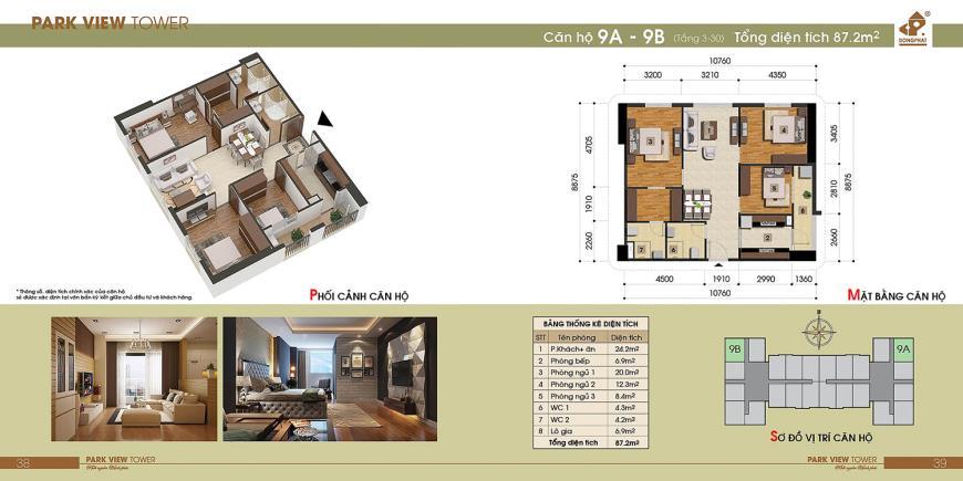 9B Chung cư Đồng Phát Tầng 4-30 tầng 10-