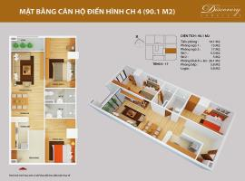 CH04 Chung cư Discovery Complex 2 - Tầng: 10