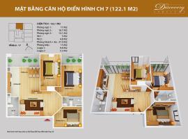 CH07 Chung cư Discovery Complex 2 - Tầng: 10