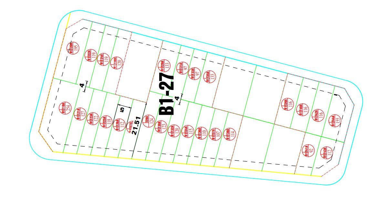 Thửa đất lô góc có diện tích nhỏ nhất khu 31ha cần