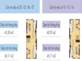 14 tầng 5-CT1A CT1B Nghĩa Đô - Tầng: 5