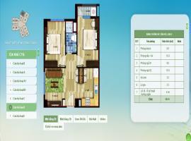 11-D - Tòa CT16 Chung cư Hồng Hà Eco City