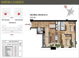 10 Imperia Garden Thanh Xuân - Tầng: 10