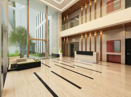 Sảnh đón khách dự án Xi Grand Court