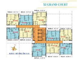 Căn hộ tầng 15,16 Block B dự án Xi Grand Court