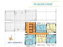 Căn hộ tầng 28 Block B dự án Xi Grand Court