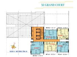 Căn hộ tầng 29 Block B dự án Xi Grand Court