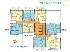 Căn hộ tầng 11,12 Block A2 dự án Xi Grand Court