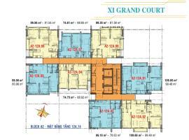 Căn hộ tầng 12A,14 Block A2 dự án Xi Grand Court