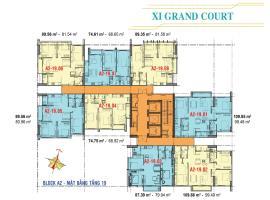 Căn hộ tầng 19 Block A2 dự án Xi Grand Court
