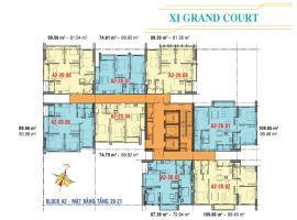 Căn hộ tầng 20,21 Block A2 dự án Xi Grand Court