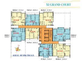 Căn hộ tầng 24,25 Block A2 dự án Xi Grand Court