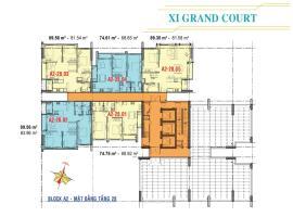 Căn hộ tầng 28 Block A2 dự án Xi Grand Court