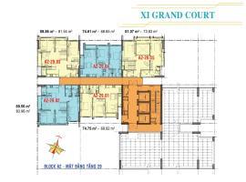 Căn hộ tầng 29 Block A2 dự án Xi Grand Court