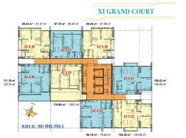 Căn hộ tầng 8 Block A2 dự án Xi Grand Court