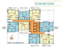 Căn hộ tầng 9,10 Block A2 dự án Xi Grand Court