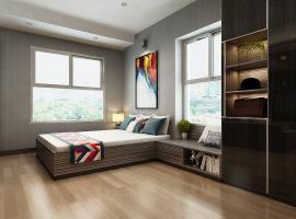 Căn hộ 1 phòng ngủ mẫu 2 dự án Xi Grand Court