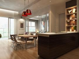 Căn hộ 1 phòng ngủ mẫu 3 dự án Xi Grand Court