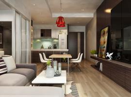 Căn hộ 1 phòng ngủ mẫu 4 dự án Xi Grand Court