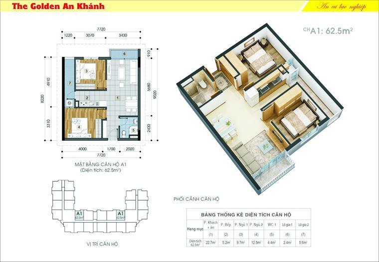 24 tầng 8-The Golden An Khánh