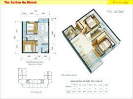 24 tầng 8-The Golden An Khánh - Tầng: 8