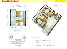 25 tầng 8-The Golden An Khánh - Tầng: 8