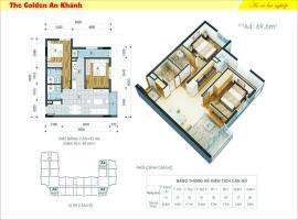 26 tầng 8-The Golden An Khánh - Tầng: 8
