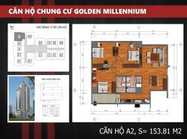 A2 - Tầng 7-30 Chung cư Golden Millennium Trần Phú