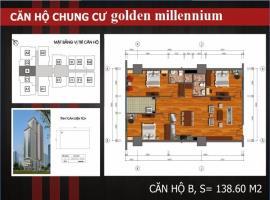B Chung cư Golden Millennium Trần Phú - Tầng: 10