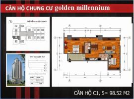 C1 Chung cư Golden Millennium Trần Phú - Tầng: 10