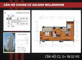 C2 Chung cư Golden Millennium Trần Phú - Tầng: 10