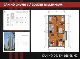 D2 Chung cư Golden Millennium Trần Phú - Tầng: 10
