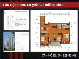 E1 Chung cư Golden Millennium Trần Phú - Tầng: 10