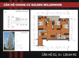 E2 Chung cư Golden Millennium Trần Phú - Tầng: 10