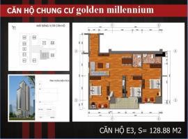 E3 - Tầng 38 Chung cư Golden Millennium Trần Phú