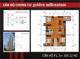 F1 - Tầng 7-30 Chung cư Golden Millennium Trần Phú