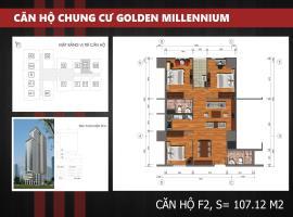 F2 - Tầng 7-30 Chung cư Golden Millennium Trần Phú
