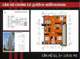 G1 - Tầng 7-30 Chung cư Golden Millennium Trần Phú