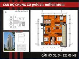 G4 - Tầng 31-37 Chung cư Golden Millennium Trần Phú