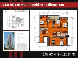 H - Tầng 31-37 Chung cư Golden Millennium Trần Phú