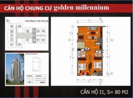 I1 Chung cư Golden Millennium Trần Phú - Tầng: 10