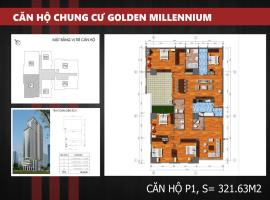 P1 - Tầng 39 Chung cư Golden Millennium Trần Phú